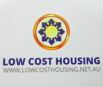 low cost housing logo